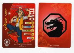 UNE IMAGE DES AVENTURES DE JACKIE CHAN ONCLE Mon Oncle Est Aussi Un Maitre Du KUNG FU TM 2003 API - Trading Cards