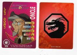 UNE IMAGE DES AVENTURES DE JACKIE CHAN ONCLE Au Far West Mon Oncle Va De Ville En Ville Pour Vendre Potions TM 2003 API - Trading Cards