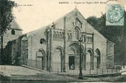 N°29587 -cpa Ruffec -façade De L'église- - France