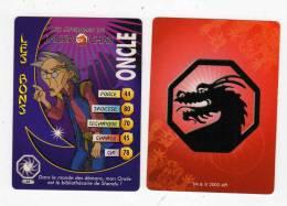 UNE IMAGE DES AVENTURES DE JACKIE CHAN ONCLE Dans Le Monde Des Démons Mon Oncle Est Bibliothécaire De Shendu TM 2003 API - Trading Cards