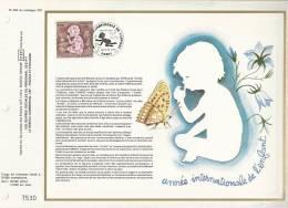 France CEF 484 - Année Internationale De L'enfance - 1er J. 6.01.79 Paris - T. 2028 - Covers & Documents
