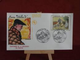 FDC - Maurice Utrillo, Peintre - Paris - 3.12.1983 - 1er Jour - édit J.F - - FDC