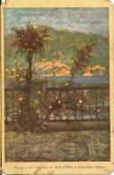M-ALMANACCO 1925 AL PROFUMO VENUS BERTELLI-VEDUTE DI CERNOBBIO - Calendari