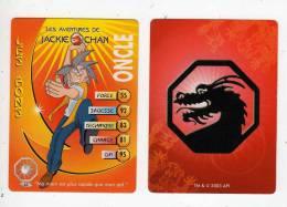 UNE IMAGE DES AVENTURES DE JACKIE CHAN ONCLE Ma Main Est Plus Rapide Que Mon Oeil TM 2003 API - Trading Cards