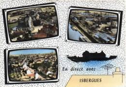62.Pas De Calais.Isbergues.L'eglise,l'usine Et Le Canal - Isbergues
