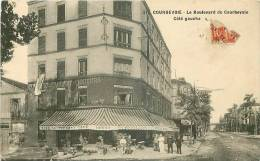 92 COURBEVOIE BOULEVARD COTE GAUCHE CAFE RESTAURANT GILLOT - Courbevoie