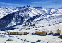 73 - LA TOUSSUIRE - LE CORBIER - Vue Panoramique Aérienne Et Les Aiguilles D'Arves - France