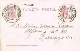 2887. Entero Postal TARAZONA (Zaragoza) 1932. Republica - Enteros Postales