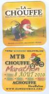 1 S/b Bière La Chouffe Marathon 2010 (recto-verso) - Sous-bocks