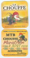 1 S/b Bière La Chouffe Marathon 2010 (recto-verso) - Portavasos