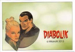 BD FDK 238 Diabolik Fumetti Noir Milanofil  2013 Comics Strip Retro Neutro - Diabolik
