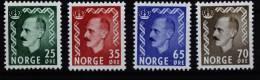 A1772) Norway Norwegen Mi.396, 397, 399, 400 Postfrisch ** MNH - Norwegen