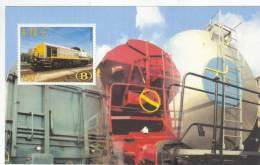 Train, Locomotive, Eisenbahn  Belgie 2000 Goederenvervoer - Trains