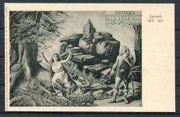 Richard Wagner Siegfreid Opera Bayreuth Jubilee Postcard - Opera