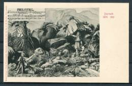 Richard Wagner Parsifal Opera Bayreuth Jubilee Postcard - Opera