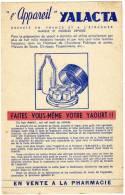 BUVARD L'appareil Yalacta Faites Vous Meme Votre Yaourt - Electricité & Gaz