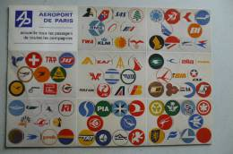 AIRPORT/ AEROPORT/ FLUGHAFEN   AEROPORT DE PARIS - Aerodrome