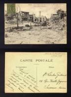 CPA PINON Avec Cachet 1919 SOISSONS A PARIS  1° Ambulant De Mobilisation Pothion 1299 Type 2 AMB MOB - Réf A87 - Postmark Collection (Covers)