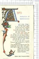 IMAGE PIEUSE -  Ayez Mémoire Et Souvenance  ........   - D'après Saint François De Sales  - Enluminure - Devotion Images