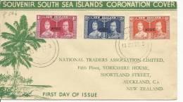 1937 FDC NIUE - Niue