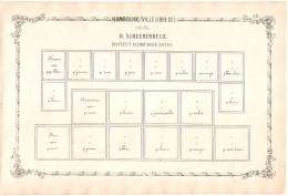 RARITY POSTAGE STAMP BEFORE 1862 - Ville Libre D´Hambourg Suite De Sheerenbeck 2 - Albums & Reliures