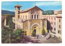 A2945 Fiuggi Fonte (Frosinone) - Chiesa Regina Pacis - Auto Cars Voitures / Viaggiata 1971 - Italia