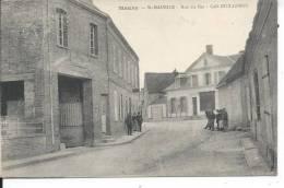 MAUNY - SAINT MAURICE - Rue Du Bas - Café Guillemot - France