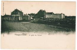 Nieuwpoort, Nieuport Ville, La Gare Du Vicinal (pk6760) - Nieuwpoort
