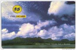 MICRONESIA - Remote Memory 5$ Card , Sleeping Lady Of Kosrae, Used - Micronesië