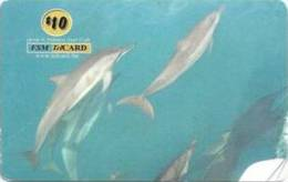 MICRONESIA - Remote Memory 10$ Card , Beautiful Dolphins, Used - Micronesia