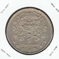 GUINEA PORTUGUESA - 1 Escudo 1933  KM51 - Guinea Bissau