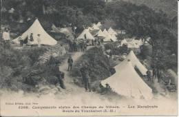 3268. - Campements Alpins Des Champs Du Villars. - Les Marabouts - Route Du TOURNAIRET (A.M.) - France