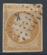 "LL-/-450.  N° 13A, OBL.,  LETTRE ""K"", COTE  12.00 € , - 1853-1860 Napoleon III"