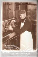 Brasserie DE KONINCK-Hoge Gisting -Metalen Promotiekaart-Plaque Métallique (10*14,5cm)-De Ingrediënten - Advertising (Porcelain) Signs