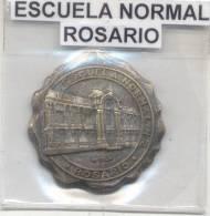 ESCUELA NORMAL DE ROSARIO NRO. 2  MEDALLA 1910-1935 EDUCACION EDUCATION RARE L'ARGENTINE - Professionals / Firms
