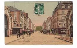 78 Versailles Rue De La Paroisse Vers Avenue Saint-cloud , Restaurant  , 1912 - Versailles