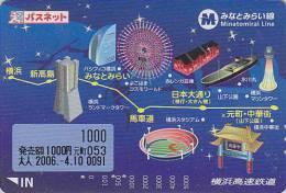 Carte Japon - PARC D'ATTRACTION / Grande Roue Bateau - AMUSEMENT PARK Japan Card - VERGNÜGUNGSPARK - ATT 311 - Jeux
