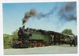 TRAIN - AK 152207 Dampflokomotive - Museumslokomotive 16 Mit Museumszug Der GES Früher Deutsche Reichsbahn 92 442 - Treni