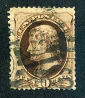 United States 1879 Scott # 180 Used Thins At Margins. - Oblitérés