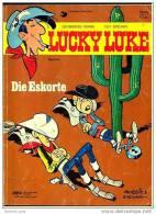 Comics Lucky Luke : Die Eskorte ,  Band 44  Von 1985  ,  Delta Verlag - Livres, BD, Revues