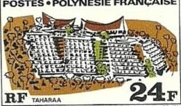 76  Grands édifices  1 Dent Juste   (345) - Frans-Polynesië