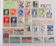 Timbres De France Neufs ** Année 1958 - 1950-1959