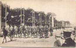 Les Fêtes De La Victoire, 14 Juillet 1919 - Les Japonais - Regimientos