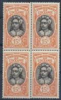 1913-15 OCEANIE 26*  Polynésienne, Gomme Altérée, Bloc De 4 - Zonder Classificatie