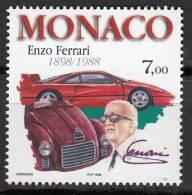 N° 2168 De Monaco - X X - ( E 546 ) -  ( Enzo Ferrari ) - Voitures