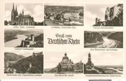 GER179 - Gruss Vom Deutschen Rhein - Koln - Koblenz - Ruine Drachenfels - Schloss Stolzenfels - Germania
