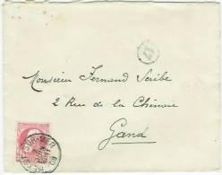 HEYST-SUR-MER 7 Juin 1909 Nr 74 Naar Gand    Mooi Afgestempeld - 1905 Grosse Barbe