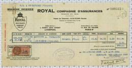 Compagnie D'assurances Royal à Liverpool, Ref1844 - Royaume-Uni