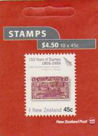 New Zealand-2005 150 Years Of Stamps $ 4.50 Booklet - Carnets