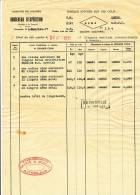 801/20 - Document  MARITIME Ligne Du CONGO Belge 1931 - Cachet  Encadré SS THYSVILLE - Non Classés